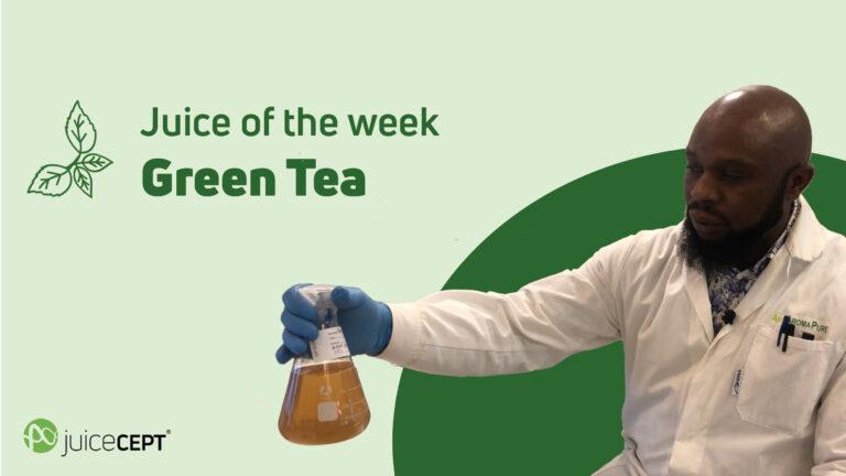 juice of the week - Green Tea