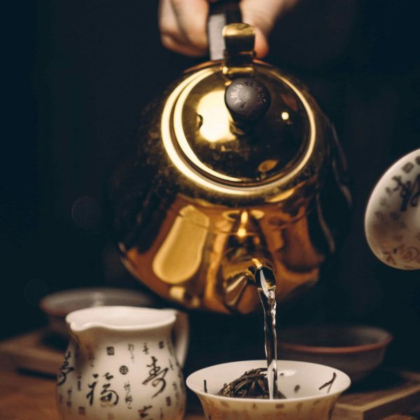 Cold-brewed Green Tea